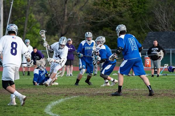 BUHS boys' lacrosse vs. Stratton 051619