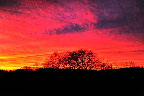 Sunny Slopes Sunset