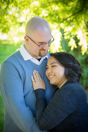Camille and Andrew Engagement
