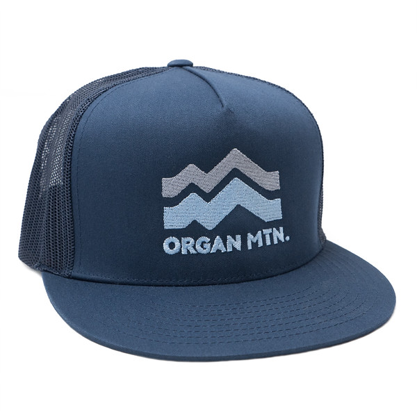 Organ Mountain Outfitters - Outdoor Apparel - Hat - Mountain Wave Trucker Cap - Navy.jpg