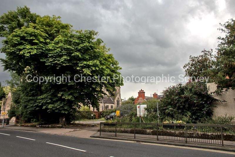 Car Park adjacent St Werburgh's Church: Grosvenor Park Road