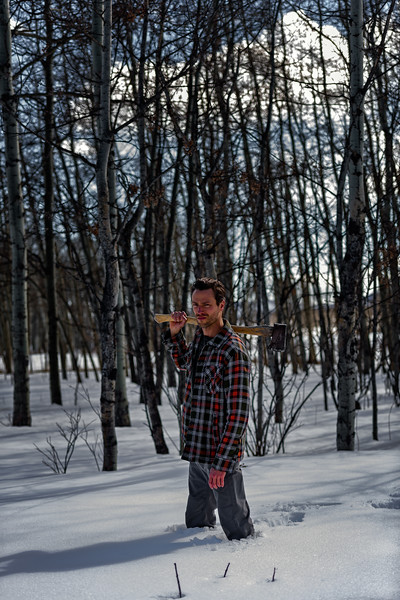 Lumberjack-Woodsman Photo Shoot