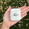 1.14ct Late Victorian Old Mine/Antique Cushion Cut Collet Component 3