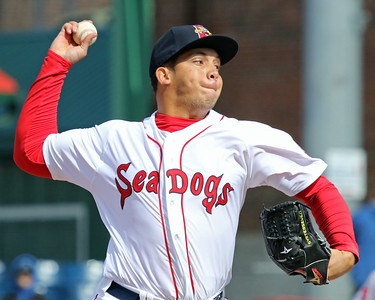 Portland Sea Dogs, April 11, 2015