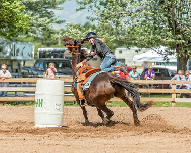 2015 Washington County Fair - Wednesday 4-H Barrels