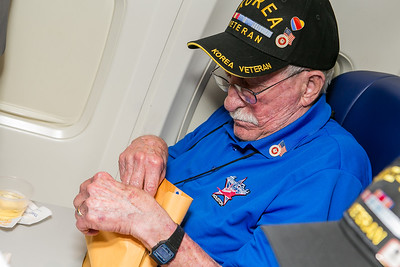 Honor Flight Houston - Going Home
