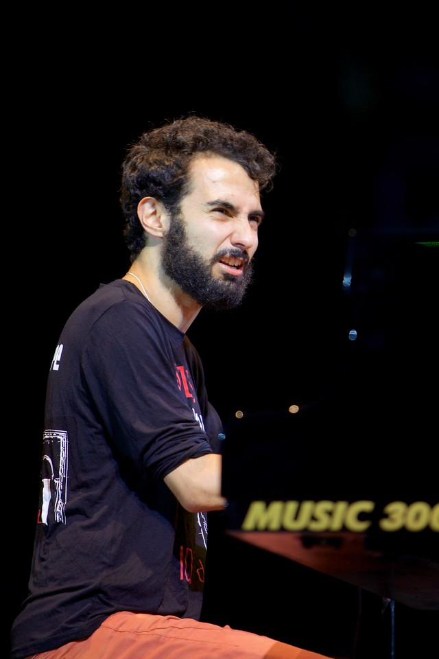 Tigran Hamasyan Trio at Jazz à Juan 2015 1
