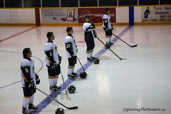 Pre-Season Exhibition Games Gold Miners Vs Abitibi Eskimos August 2012