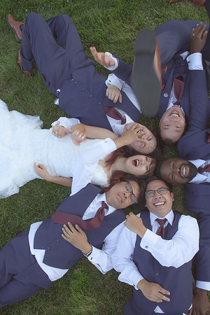 First Look & Bridal Party