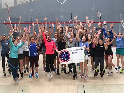 Women's Squash Week Pop Up Edition