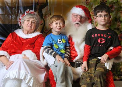 Holiday Elves Santa