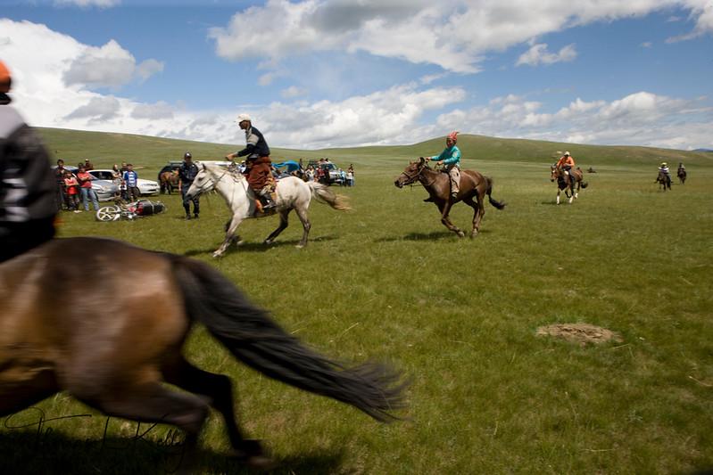 Annual Naadam Festival. Bulgam, Mongolia