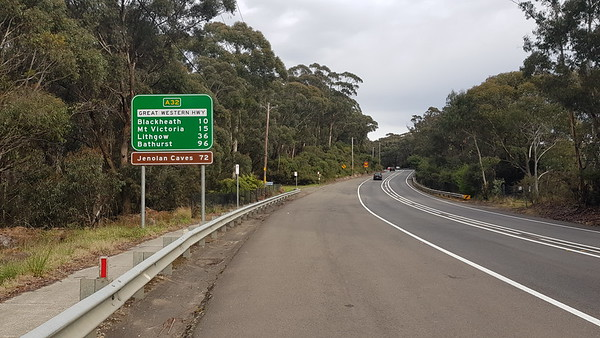 6th October, 2019 - Day 2: Katoomba to Lithgow, NSW