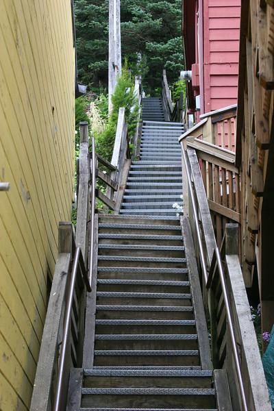 alley in Juneau