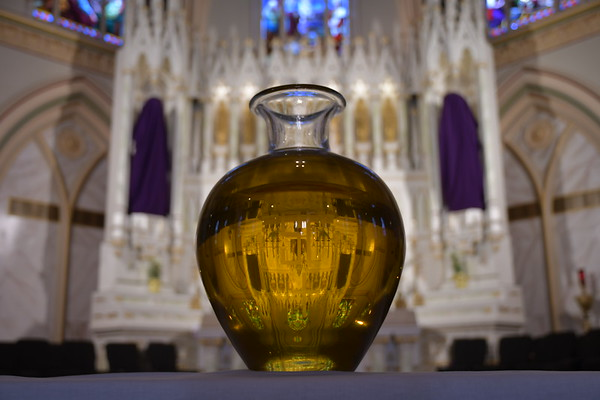 Solemn Vespers and Distribution of Holy Oils