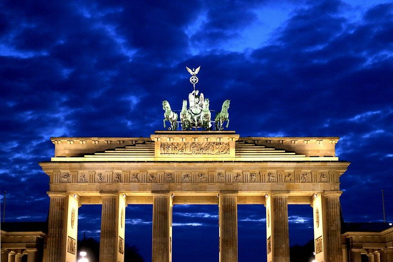 brandenburg gate berlin - traditional german food - what to eat in germany