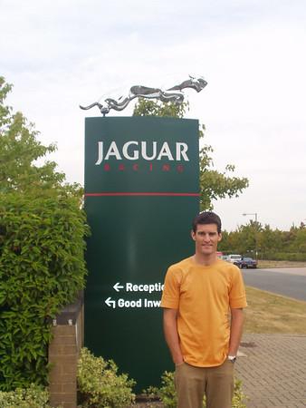 Jaguar Formula 1 factory 2003