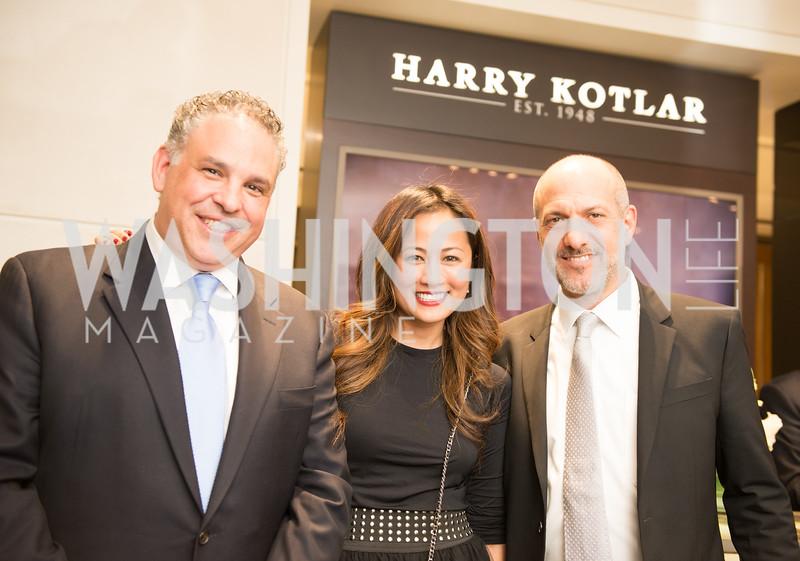 Matthew Rosenheim,  Czarah Cabrera, David Wiener, Harry Kotlar 70th Anniversary and Opening at Tiny Jewel Box. November 8th, 2018.  Photo by Ben Droz.