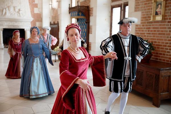 Danse Renaissance au Château Royal d'Amboise
