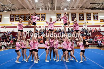 Cheer: Broad Run Varsity @ BRHS 10.14.2017 (by Fred Ingham)