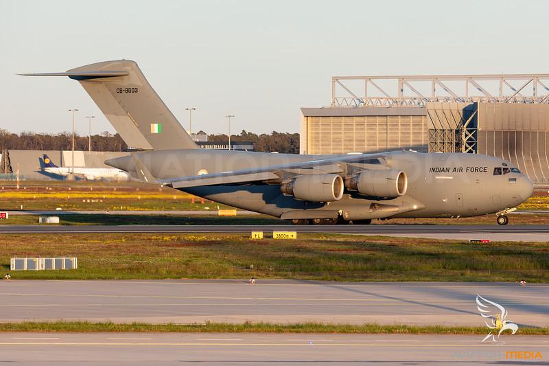 India - Air Force | Boeing C-17A Globemaster III | CB-8003