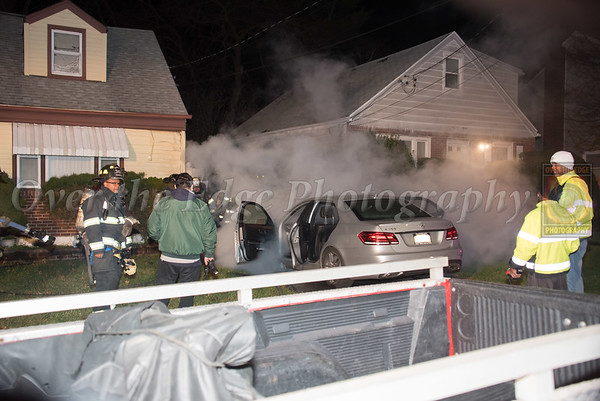 Uniondale Car Fire in Driveway 12/05/2020