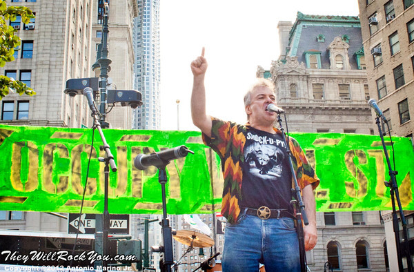 Jello Biafra performs at the Occupy Wall Street Anniversary Concert - September 16, 2012