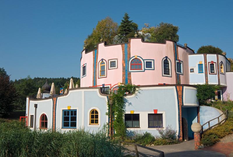 Conference Centre at Rogner Bad Blumau Spa, Austria