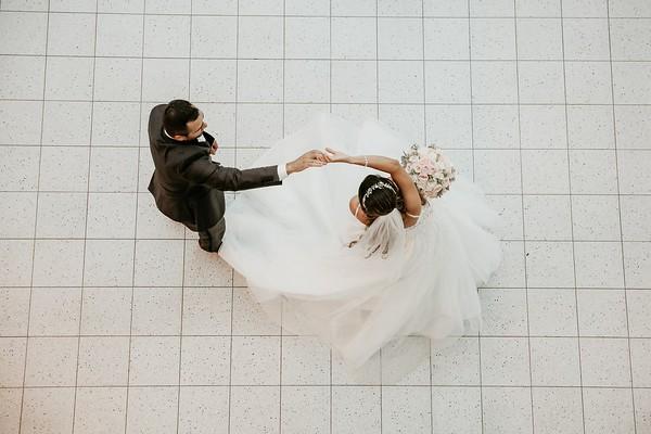 Gloria + Jesse (Edmonton wedding)