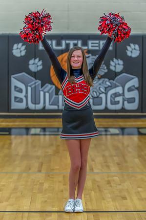 2014-2015 BHS JV Basketball Cheerleaders