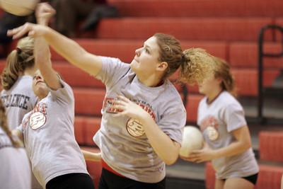 Girls Junior Varsity Volleyball - 2006-2007 - 1/22/2007 Quad