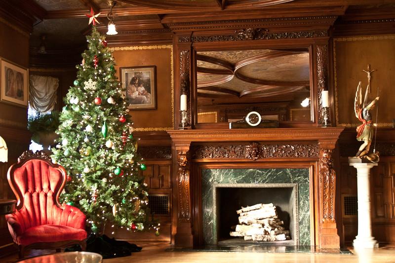 Sitting Room, 2nd Floor , St. Mary's Villa, Lindenwald Castle in Ambler, PA