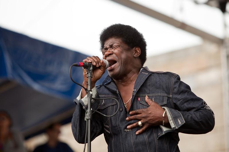 Charles Bradley - 2010 Newport Folk Festival