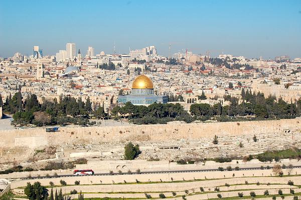 Jerusalem, B'Hai & Western Wall