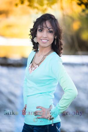 Yaira Viera Flores Senior Portrait THS 2014