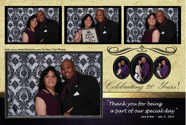 Ann & Ron's 20th Wedding Anniversary 1-04-14