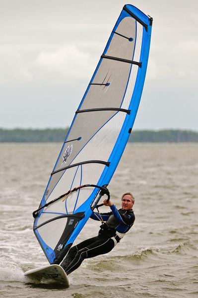 Windsurfing off Sanibel Causeway