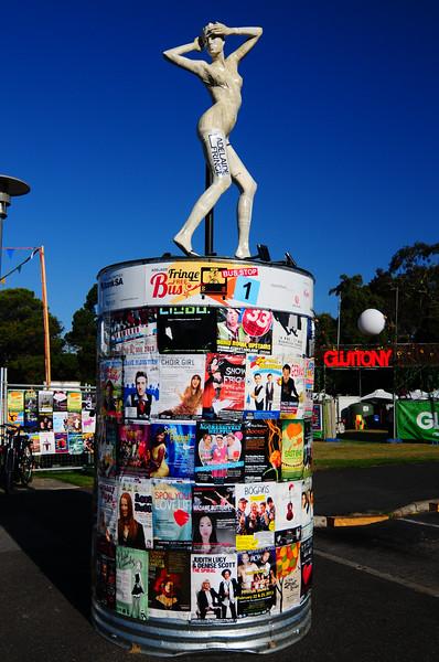 Adelaide Fringe Festival - City snaps