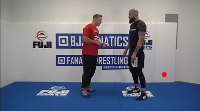 Outside Step Double Leg  (Lunge Step)