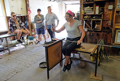 Glass Blowing First Day of Class 9-4-18