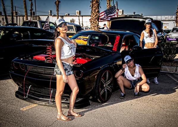 Babe's Cabaret All American Car Show 6 30 2018 Las Vegas