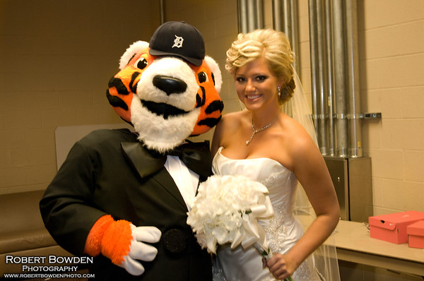 Wedding On The Diamond- Whitney and Andy
