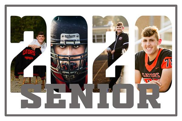 Dom. Senior 2020 collage