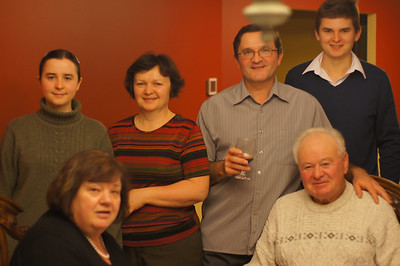 Maznichenko Family Hosts Mollicones - November 30 2013