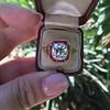 3.12ct Old European Cut Diamond Ruby Halo Ring, GIA L  21