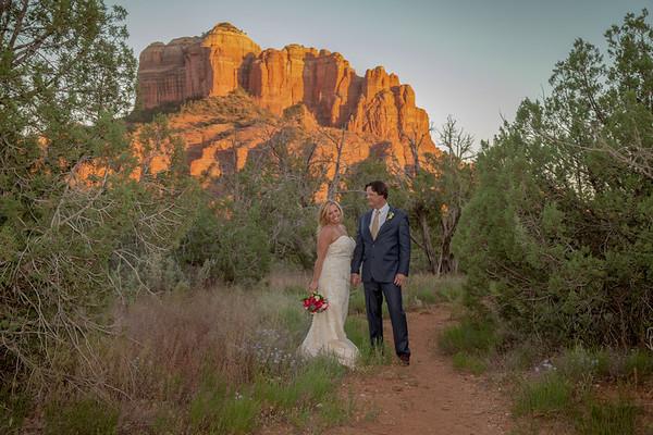 Melissa & Clay 's Sedona Wedding