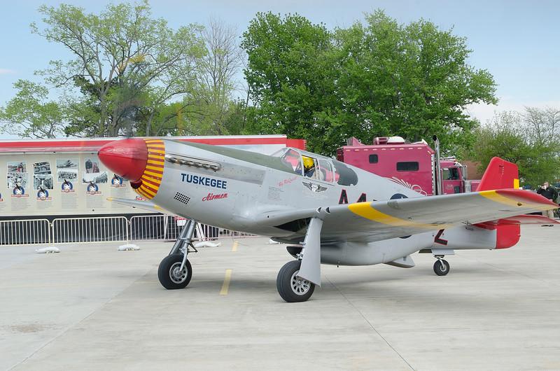 "P-51C Mustang ""Tuskegee Airmen"""