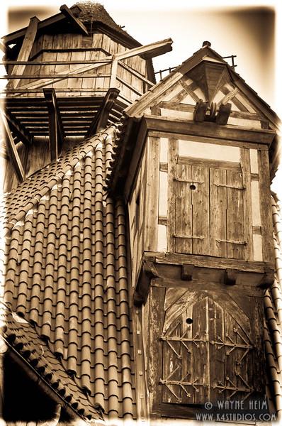 Loft of Castle    Photography by Wayne Heim