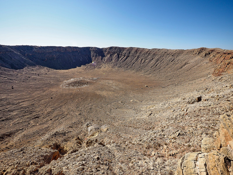 Route 66 - Meteor crater, Nr Flagstaff, Arizona