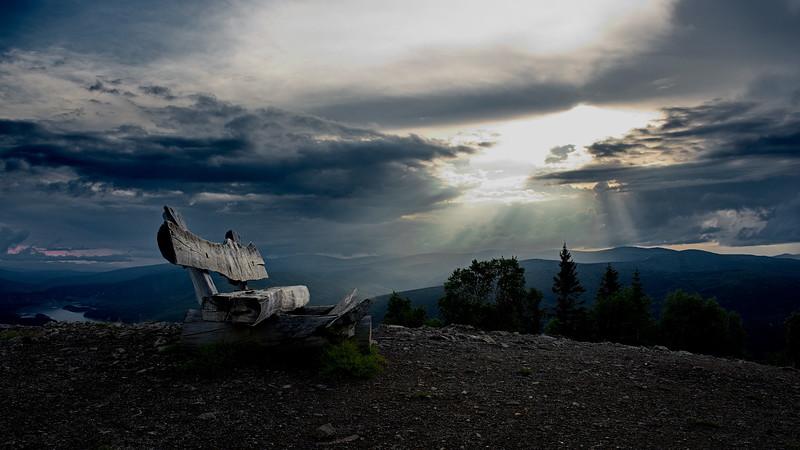 Dawson City, Landscape, Midnight Dome, Yukon
